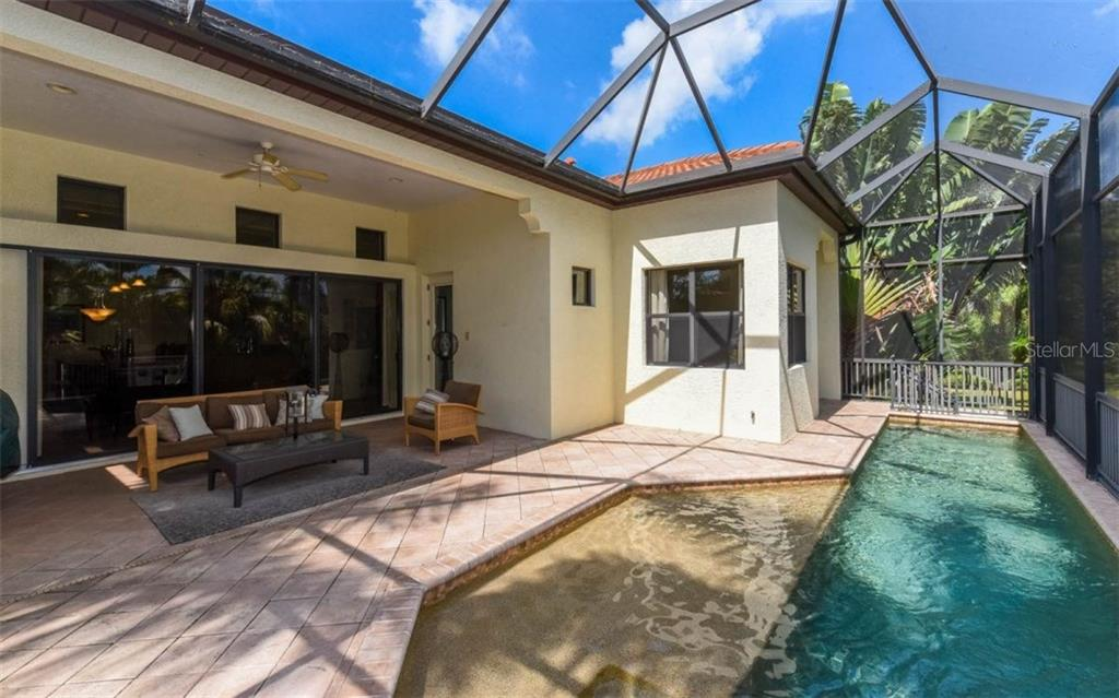PRIVATE SALT POOL WITH COVERED LANAI - Single Family Home for sale at 5605 Title Row Dr, Bradenton, FL 34210 - MLS Number is A4194268