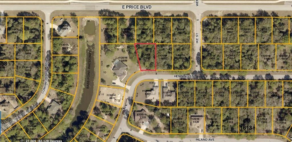 Vacant Land for sale at Henning St, North Port, FL 34288 - MLS Number is A4196098