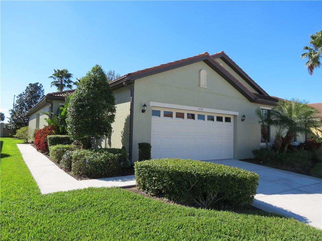 Floor Plan - Villa for sale at 1458 Maseno Dr, Venice, FL 34292 - MLS Number is A4197344