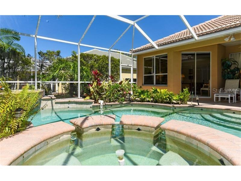 Heated Spa...Looking To The Master Suite! - Single Family Home for sale at 6910 Treymore Ct, Sarasota, FL 34243 - MLS Number is A4198957