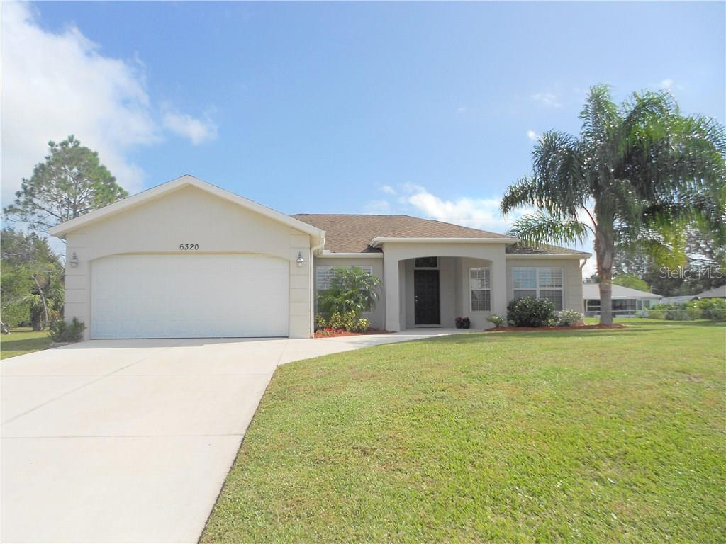 Front Exterior - Single Family Home for sale at 6320 Hera St, Englewood, FL 34224 - MLS Number is A4200968