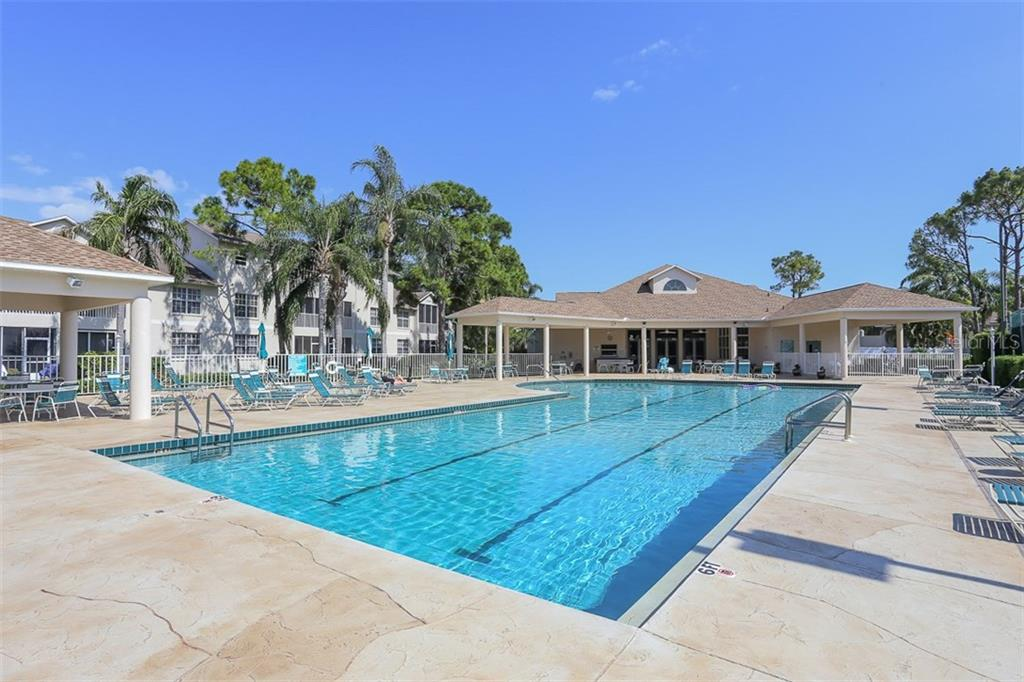 A REALLY BIG POOL - Condo for sale at 8390 Wingate Dr #517, Sarasota, FL 34238 - MLS Number is A4201592