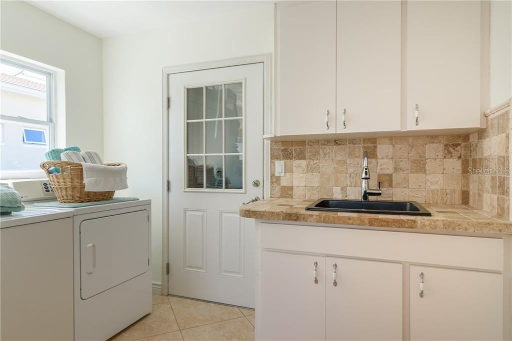 Utility room - Single Family Home for sale at 5439 Azure Way, Sarasota, FL 34242 - MLS Number is A4203969