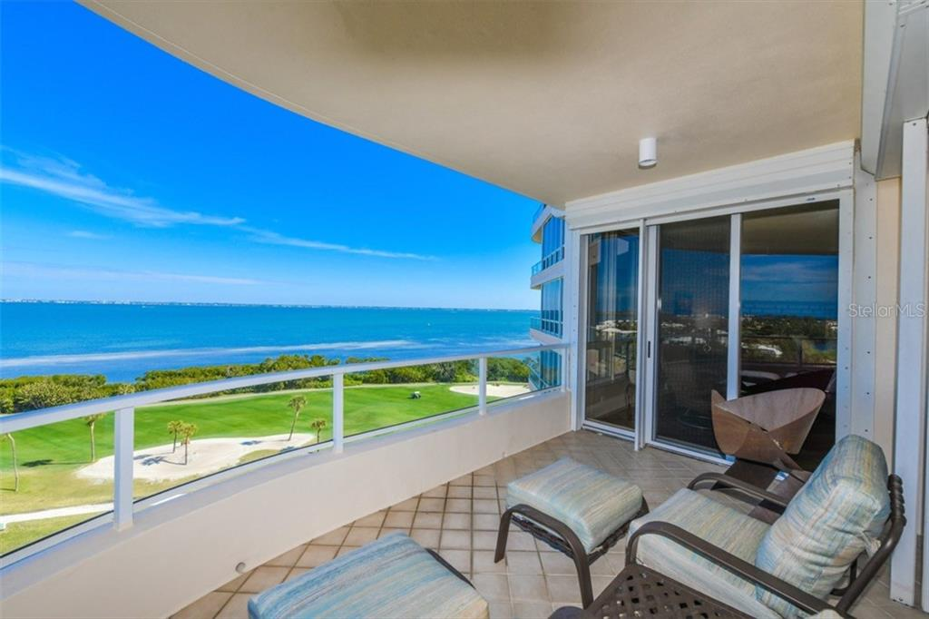 Bay views from the terrace - Condo for sale at 3060 Grand Bay Blvd #172, Longboat Key, FL 34228 - MLS Number is A4206357