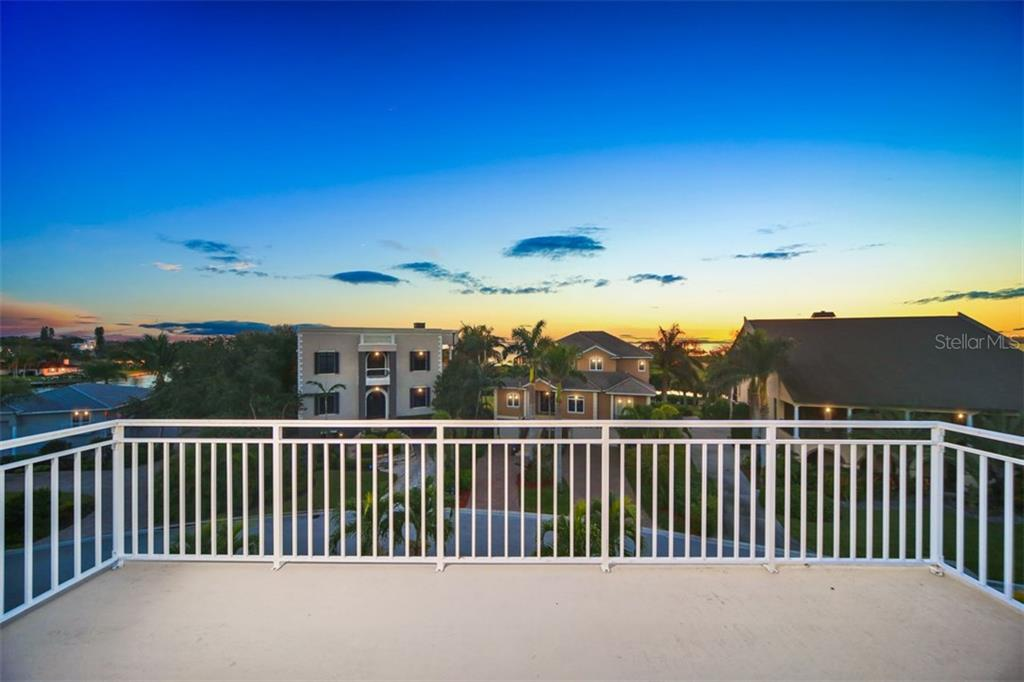 Gorgeous Sunset Bay views from 4th floor Balcony - Single Family Home for sale at 7047 Hawks Harbor Cir, Bradenton, FL 34207 - MLS Number is A4206626