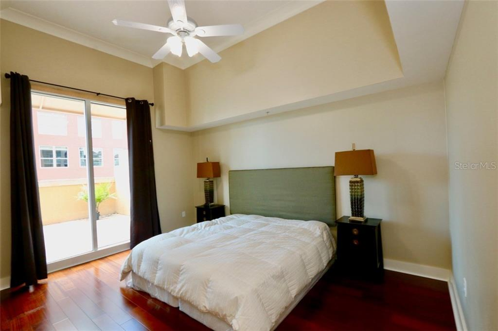 Roomy bedroom. - Condo for sale at 1350 Main St #608, Sarasota, FL 34236 - MLS Number is A4206707