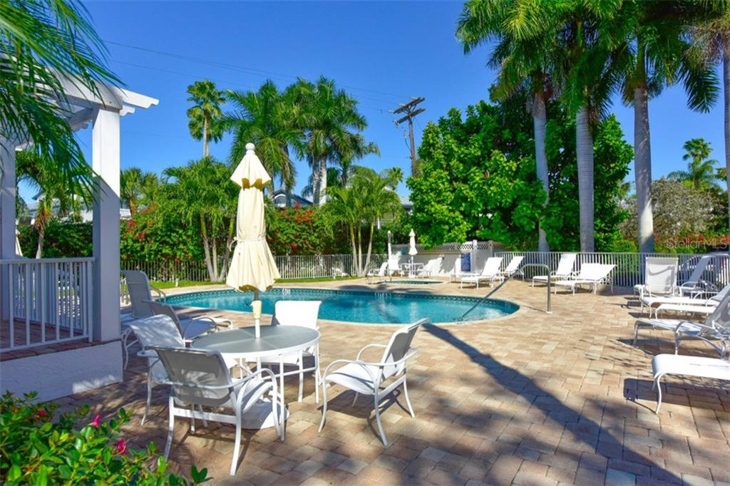 Dolphin Bay Community Pool - Condo for sale at 1260 Dolphin Bay Way #403, Sarasota, FL 34242 - MLS Number is A4207220