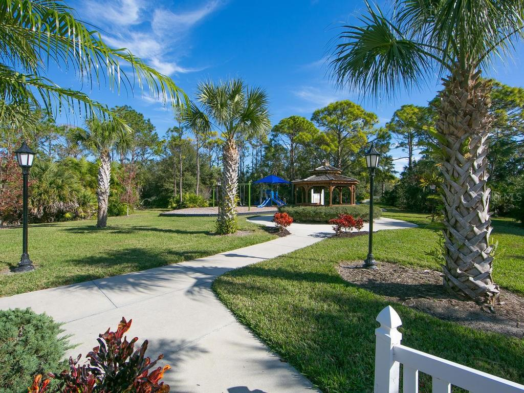 Community playground - Single Family Home for sale at 1010 Oak Preserve Ln, Osprey, FL 34229 - MLS Number is A4207598