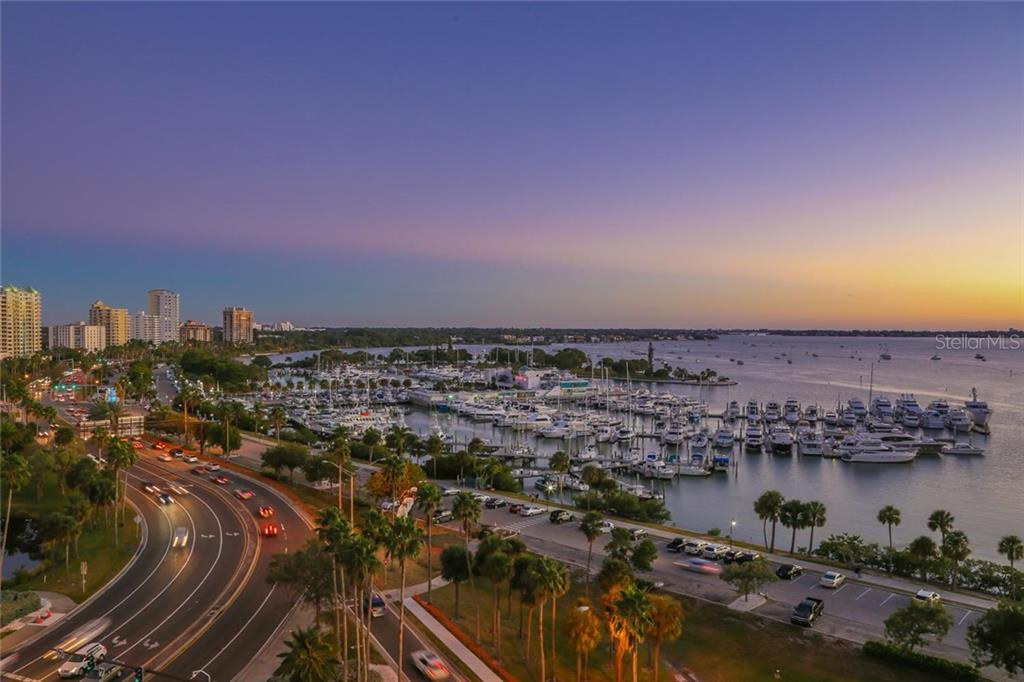Sunset views over Sarasota Bay - Condo for sale at 1155 N Gulfstream Ave #304, Sarasota, FL 34236 - MLS Number is A4208934