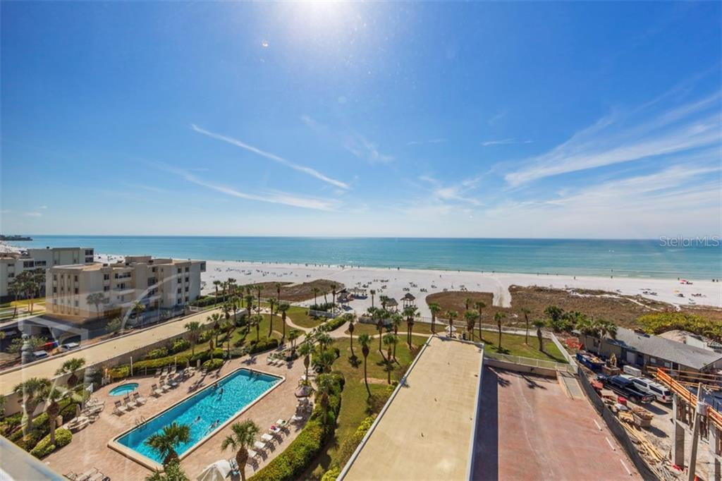 The views from your condo - Condo for sale at 6140 Midnight Pass Rd #608, Sarasota, FL 34242 - MLS Number is A4209897