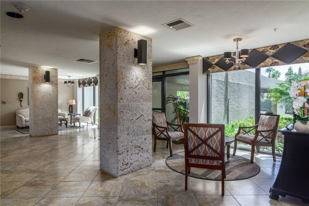 Building entry - Condo for sale at 4822 Ocean Blvd #11d, Sarasota, FL 34242 - MLS Number is A4209955