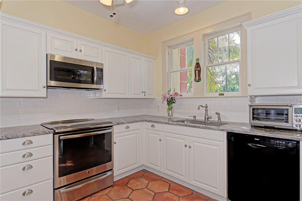 Kitchen - Single Family Home for sale at 1874 Wisteria St, Sarasota, FL 34239 - MLS Number is A4211659