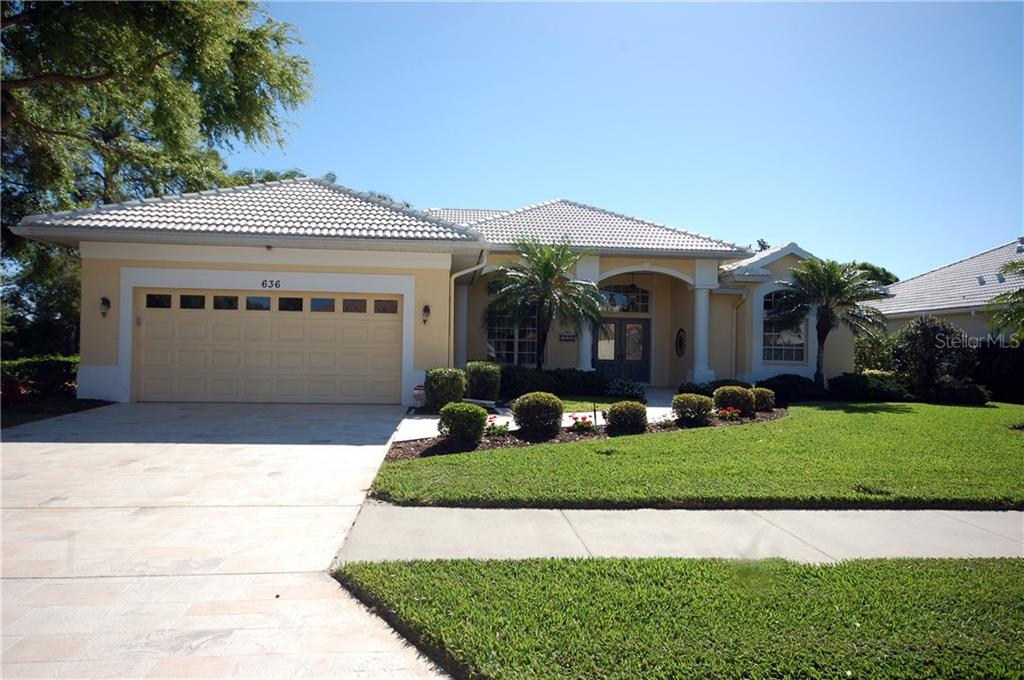 Community map - Single Family Home for sale at 636 Sawgrass Bridge Rd, Venice, FL 34292 - MLS Number is A4212688