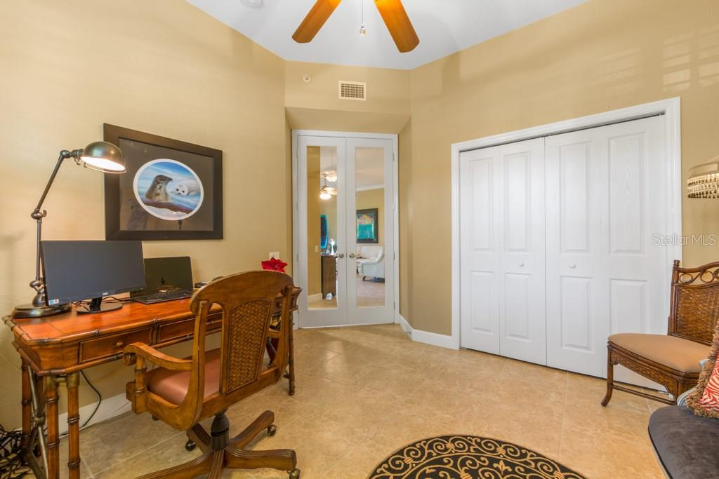 3rd Bedroom is currently used as an office. - Condo for sale at 7504 Botanica Pkwy #101, Sarasota, FL 34238 - MLS Number is A4213208