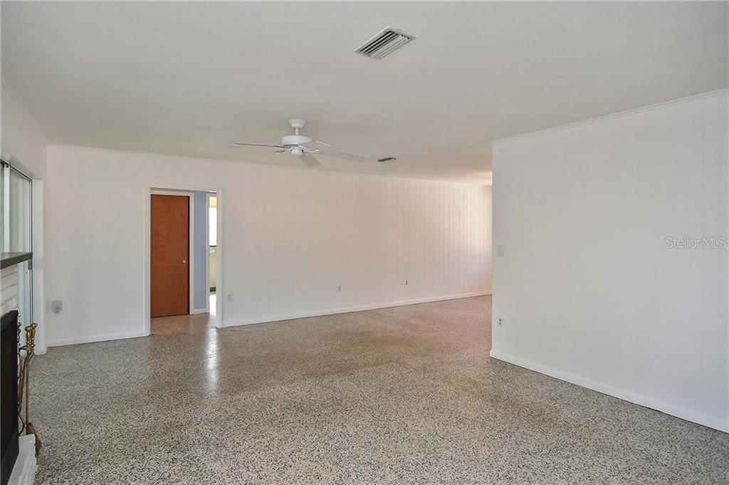 Living/Dining room - Single Family Home for sale at 1953 Fairview Dr, Englewood, FL 34223 - MLS Number is A4213338