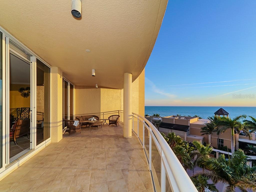 Gulf Terrace - Turquoise Blue Waters - Condo for sale at 1300 Benjamin Franklin Dr #603, Sarasota, FL 34236 - MLS Number is A4213631