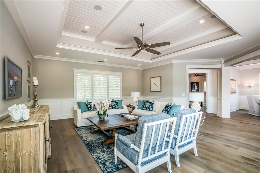 Grand Room Comfort - Single Family Home for sale at 601 Triton Bnd, Longboat Key, FL 34228 - MLS Number is A4215179