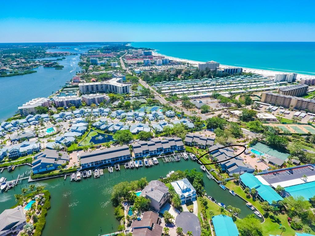 Your view. Not a bad way to start or end the day! - Condo for sale at 1215 Dockside Pl #204, Sarasota, FL 34242 - MLS Number is A4215997