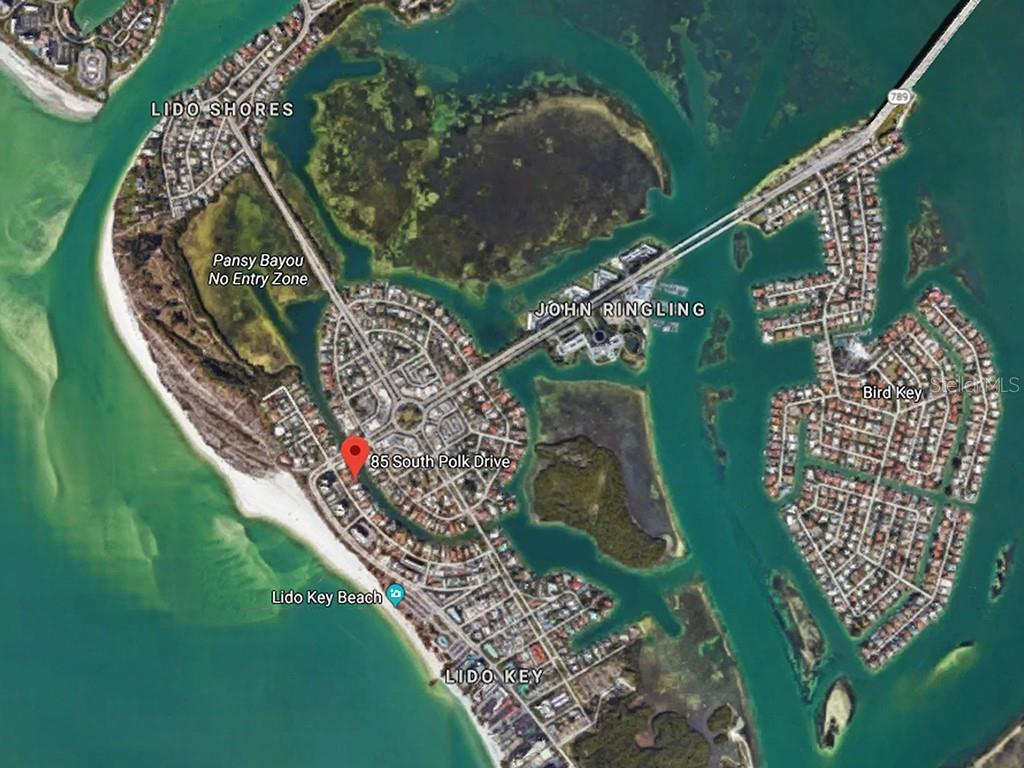 Lido Key - Single Family Home for sale at 85 S Polk Dr, Sarasota, FL 34236 - MLS Number is A4400870