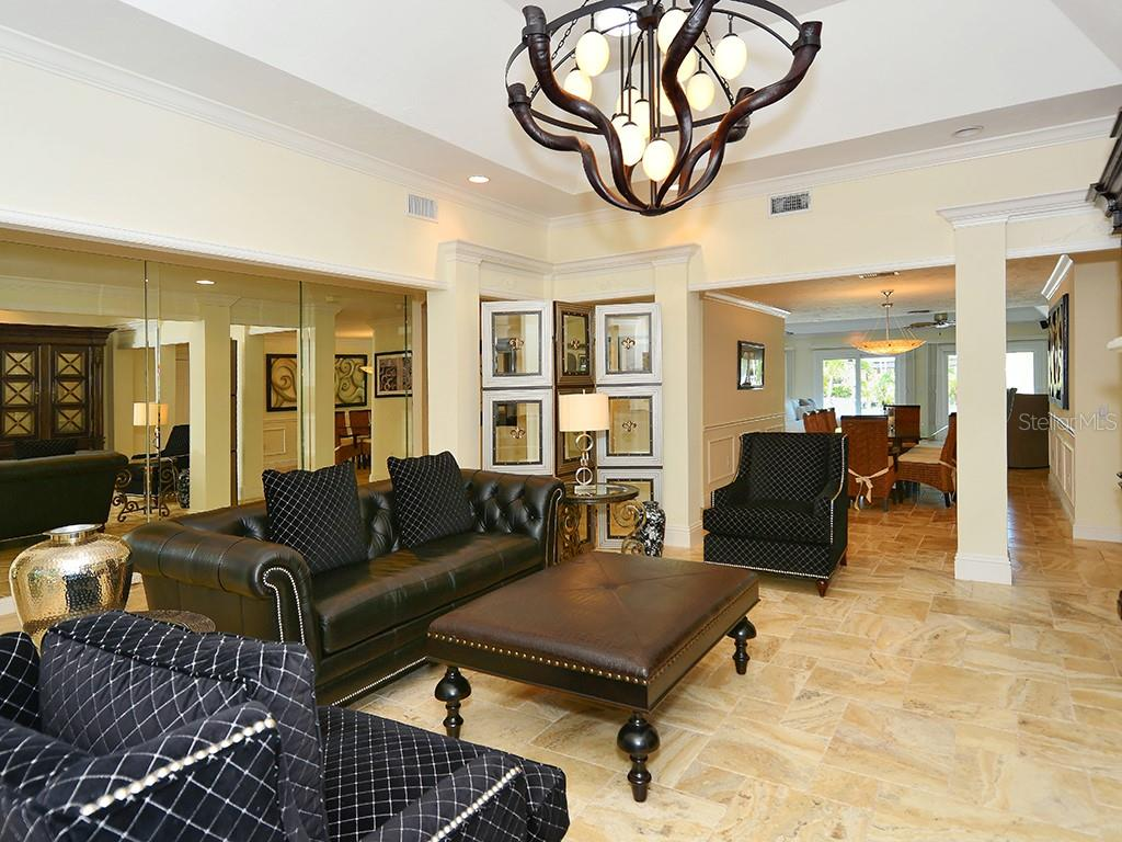 Living Room - Single Family Home for sale at 85 S Polk Dr, Sarasota, FL 34236 - MLS Number is A4400870