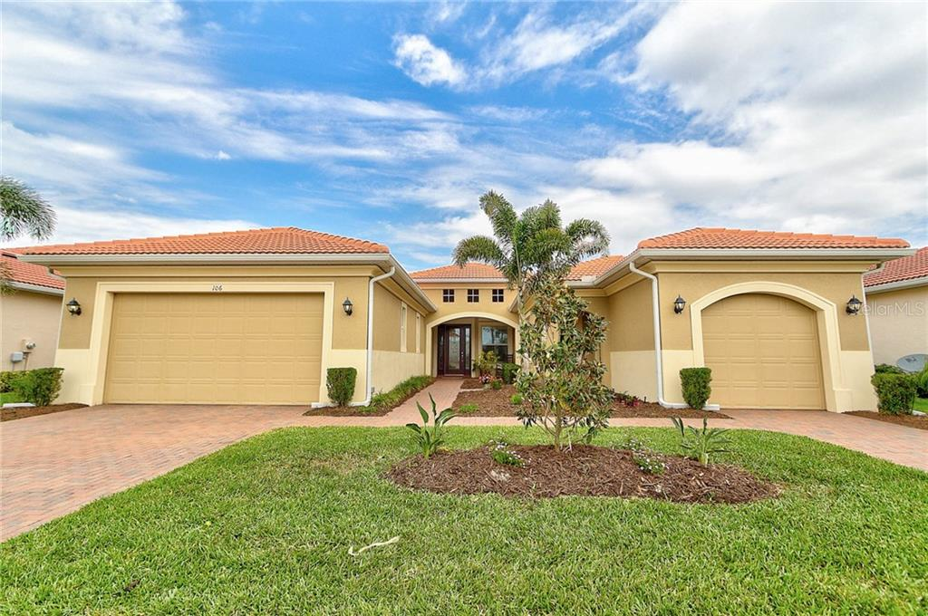 New Supplement - Single Family Home for sale at 106 Valenza Loop, North Venice, FL 34275 - MLS Number is A4401272
