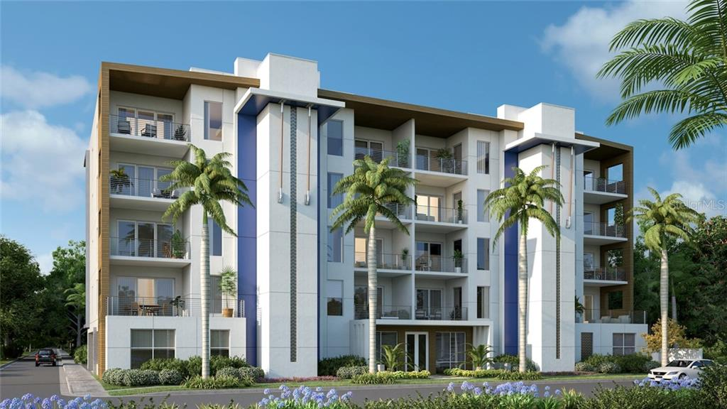 Contemporary Innovation and Style/Designed by Architect Mark Sultana of DSDG. - Condo for sale at 711 S Palm Ave #302, Sarasota, FL 34236 - MLS Number is A4402381