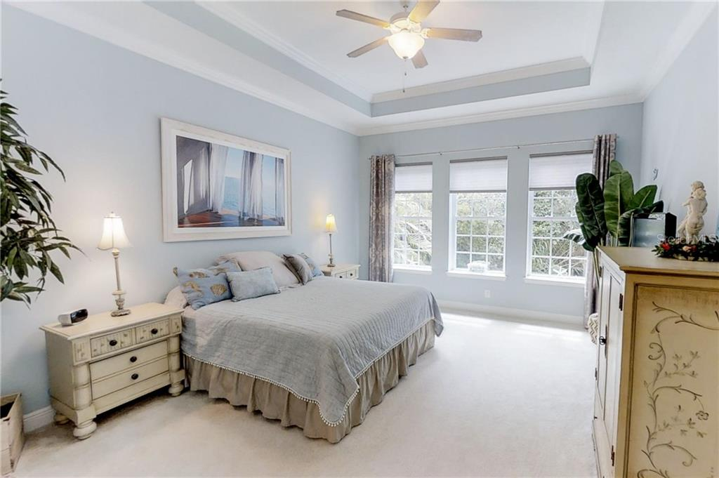 Spacious master bedroom. - Single Family Home for sale at 8139 37th Avenue Cir W, Bradenton, FL 34209 - MLS Number is A4404272