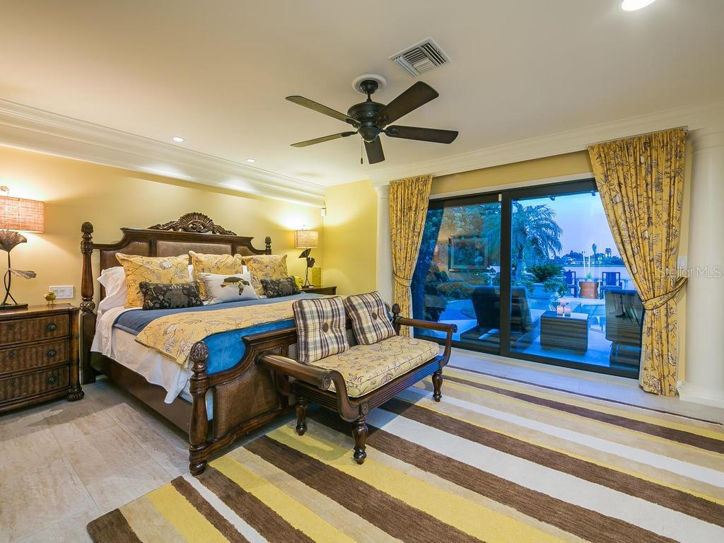 Amazing water views of Dona Bay from your Master Bedroom. - Single Family Home for sale at 301 Bayview Pkwy, Nokomis, FL 34275 - MLS Number is A4405265