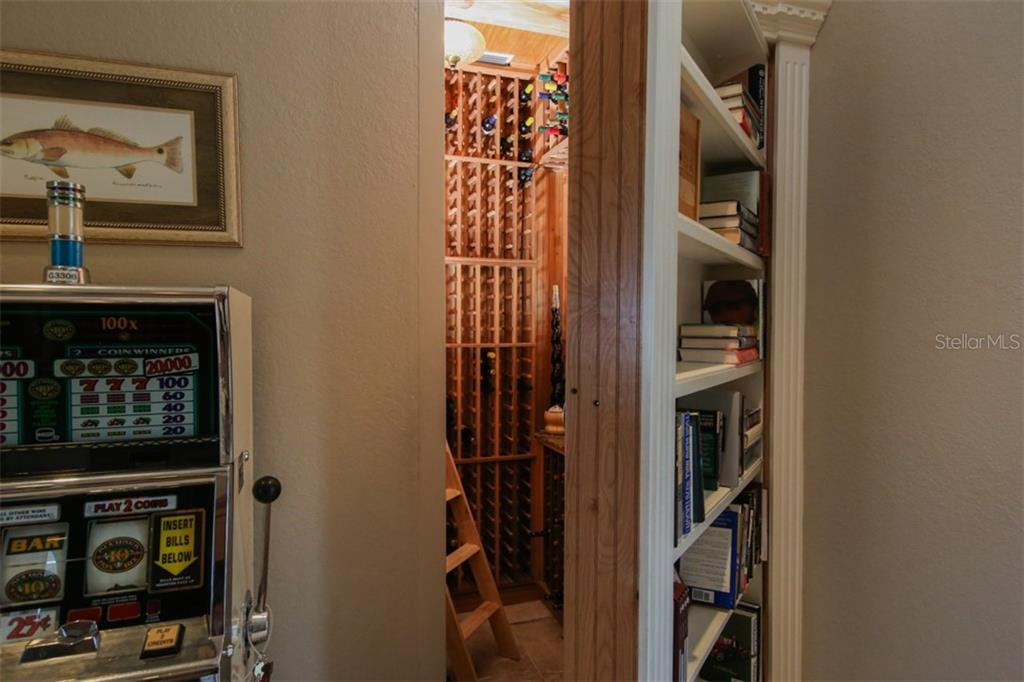 Hidden Wine Cellar - Single Family Home for sale at 1778 Bayshore Dr, Englewood, FL 34223 - MLS Number is A4405962