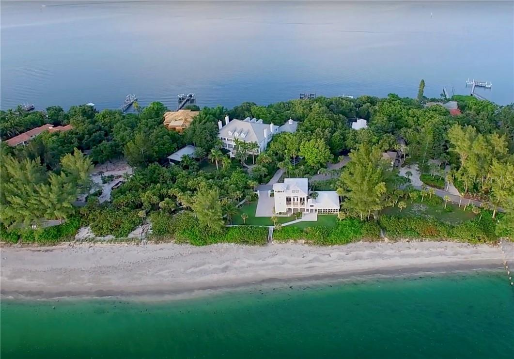Casey Key - Gulf to Bay Views - Single Family Home for sale at 916 N Casey Key Rd, Osprey, FL 34229 - MLS Number is A4408082