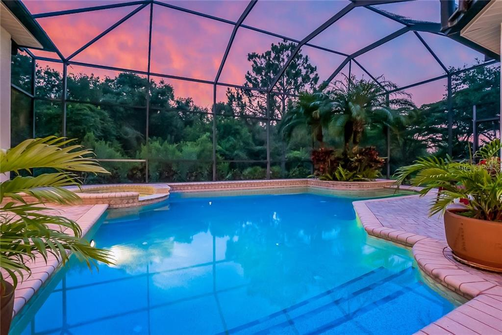 Enjoy the serene nature and privacy - this view faces west to enjoy spectacular sunsets. - Single Family Home for sale at 13223 Palmers Creek Ter, Lakewood Ranch, FL 34202 - MLS Number is A4408290