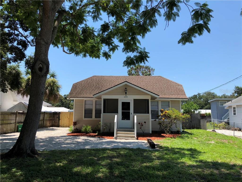 Seller's Unoccupied Disclosure - Single Family Home for sale at 633 Tarpon Ave, Sarasota, FL 34237 - MLS Number is A4408664