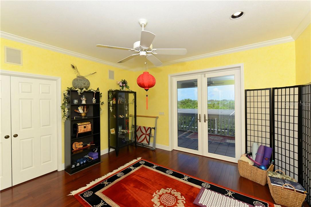 Second bedroom currently used as Yoga room. - Single Family Home for sale at 1427 Cedar Bay Ln, Sarasota, FL 34231 - MLS Number is A4408881