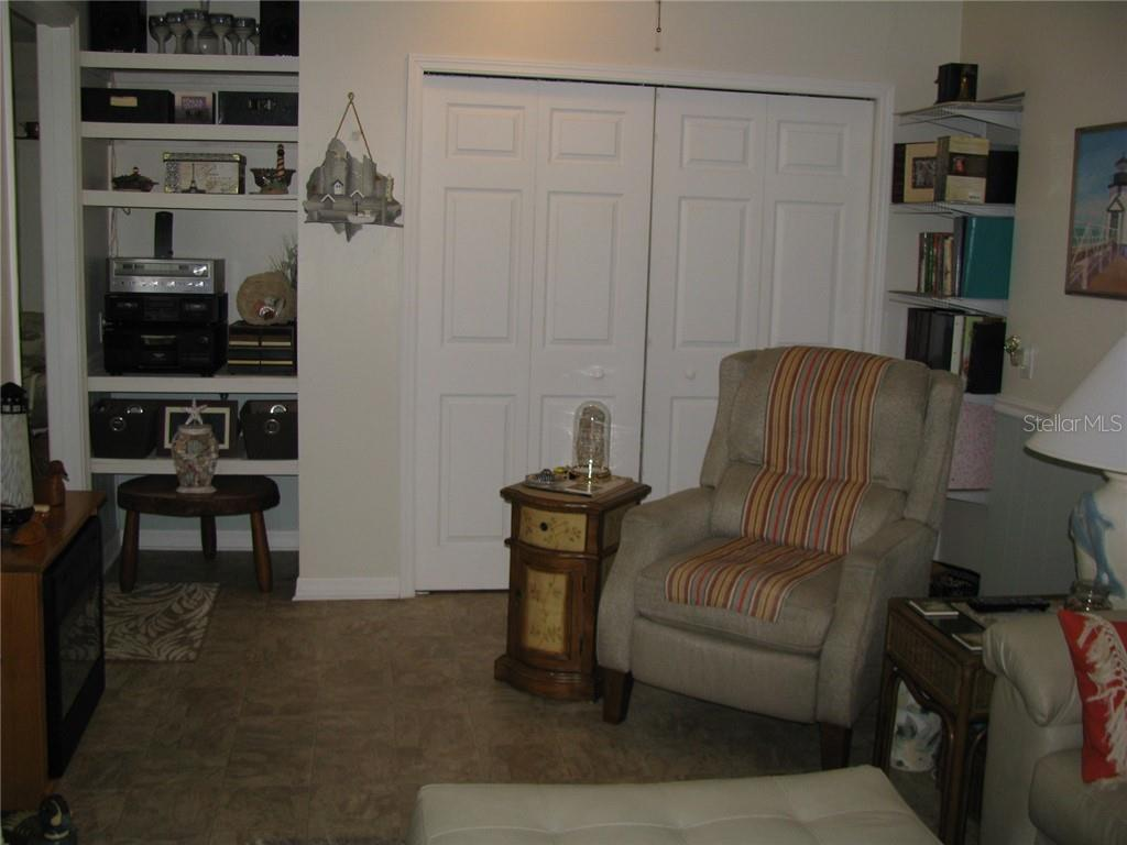 Den/office has built in closet for extra storage - Single Family Home for sale at 1911 29th St W, Bradenton, FL 34205 - MLS Number is A4409585
