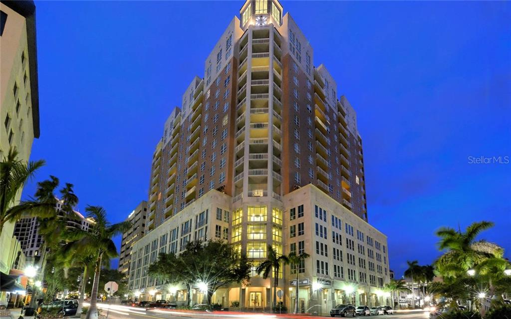 Sellers Disclosure - Condo for sale at 1350 Main St #1505, Sarasota, FL 34236 - MLS Number is A4413407