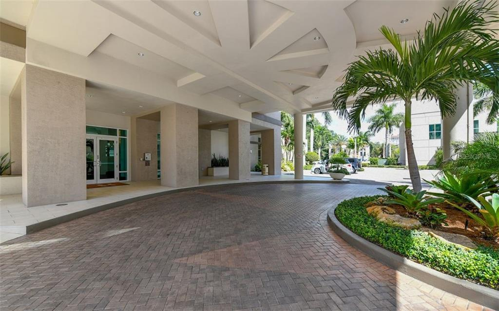 Covered Entry - Condo for sale at 1771 Ringling Blvd #1011, Sarasota, FL 34236 - MLS Number is A4414630