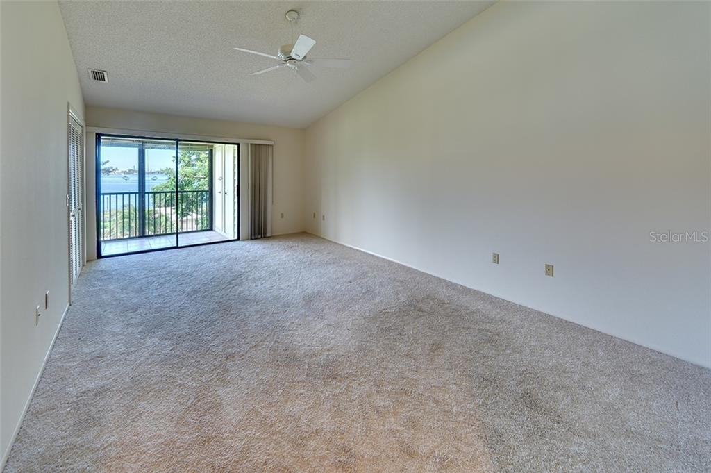 Master bedroom with beautiful views. - Condo for sale at 3920 Mariners Way #323a, Cortez, FL 34215 - MLS Number is A4416115