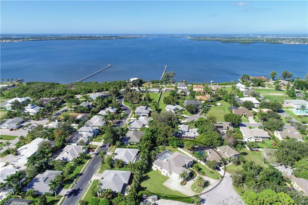 Palma Sola Bay in the background - Single Family Home for sale at 1714 79th Ct W, Bradenton, FL 34209 - MLS Number is A4416601