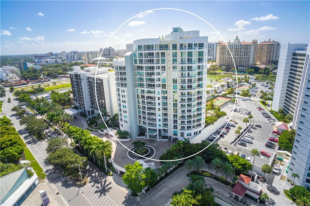 Unobstructed BAY and SUNSET views - Condo for sale at 990 Blvd Of The Arts #1102, Sarasota, FL 34236 - MLS Number is A4417004