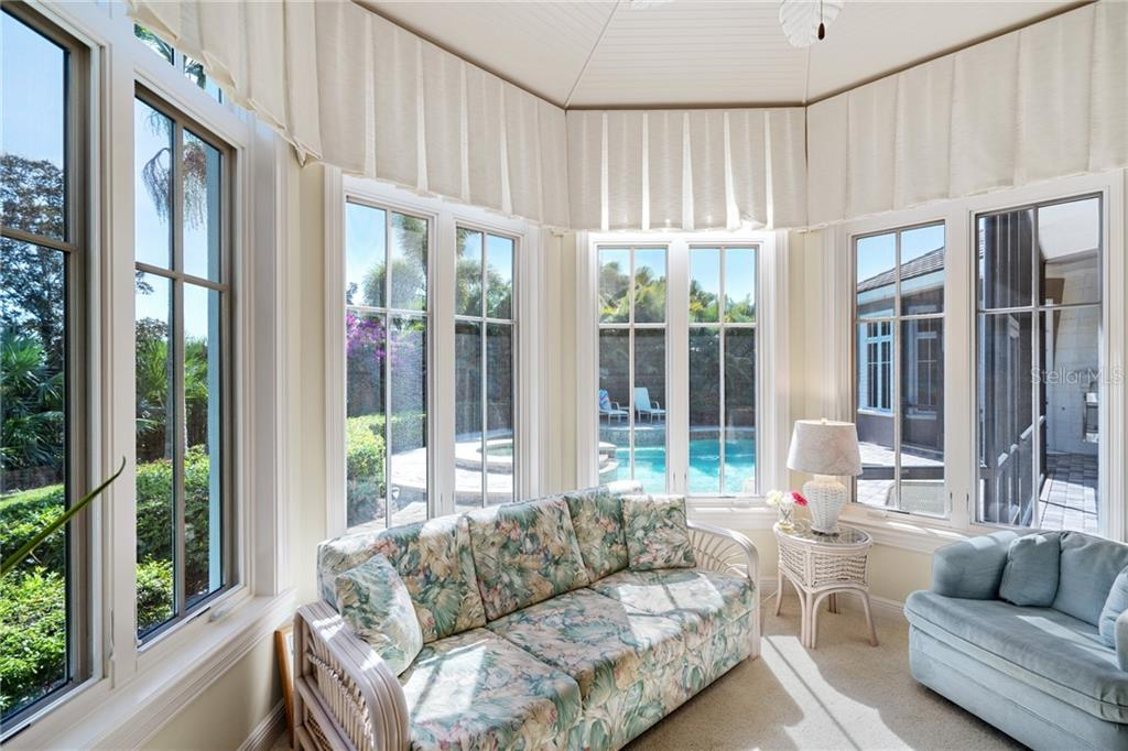 HER OFFICE / SUN ROOM - Single Family Home for sale at 4121 Founders Club Dr, Sarasota, FL 34240 - MLS Number is A4417319