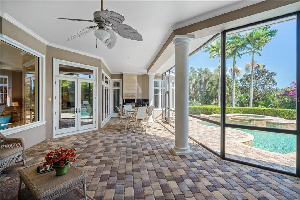 PATIO - Single Family Home for sale at 4121 Founders Club Dr, Sarasota, FL 34240 - MLS Number is A4417319