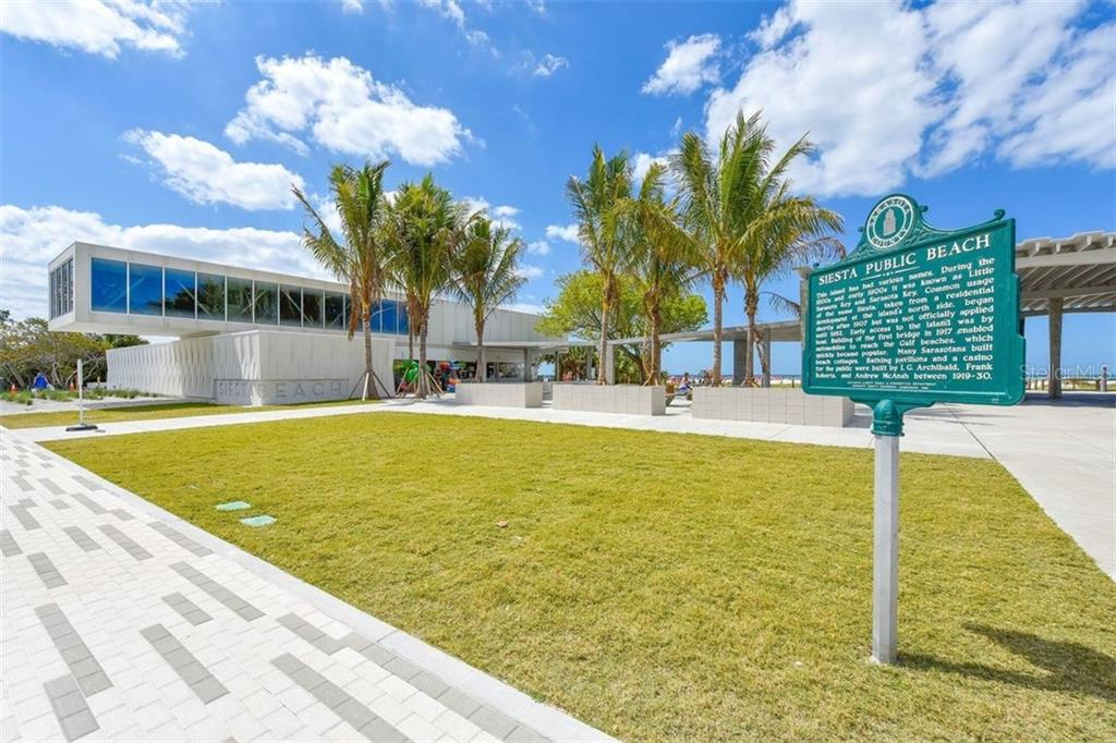 Siesta Beach - always a favorite. Sparkling white sand beach is the place to be. - Villa for sale at 3617 Gleneagle Dr, Sarasota, FL 34238 - MLS Number is A4417832