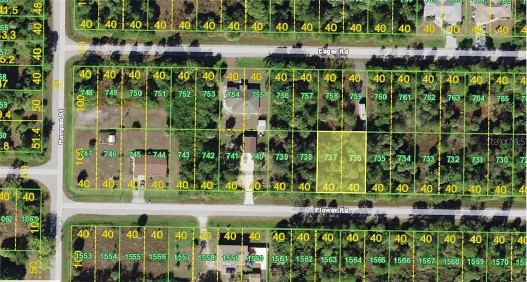 Vacant Land for sale at 26208 Flower Rd, Punta Gorda, FL 33955 - MLS Number is A4419943