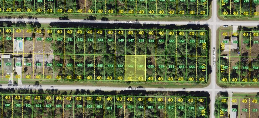 Vacant Land for sale at 26386 Deer Rd, Punta Gorda, FL 33955 - MLS Number is A4419952