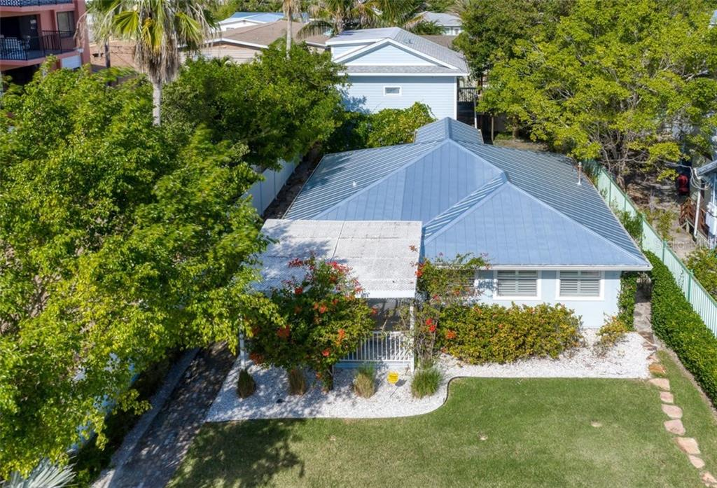 Main house metal roof 2016 Guest House in rear constructed 2012. - Single Family Home for sale at 147 Garfield Dr, Sarasota, FL 34236 - MLS Number is A4420375