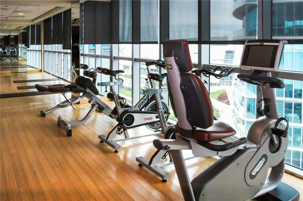 Fitness Area. - Condo for sale at 900 Biscayne #301, Miami, FL 33132 - MLS Number is A4420957