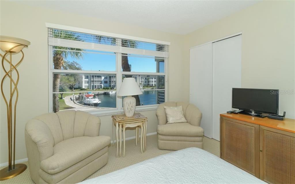 Master Bedroom Sitting Area with view - Condo for sale at 4370 Chatham Dr #204, Longboat Key, FL 34228 - MLS Number is A4421600