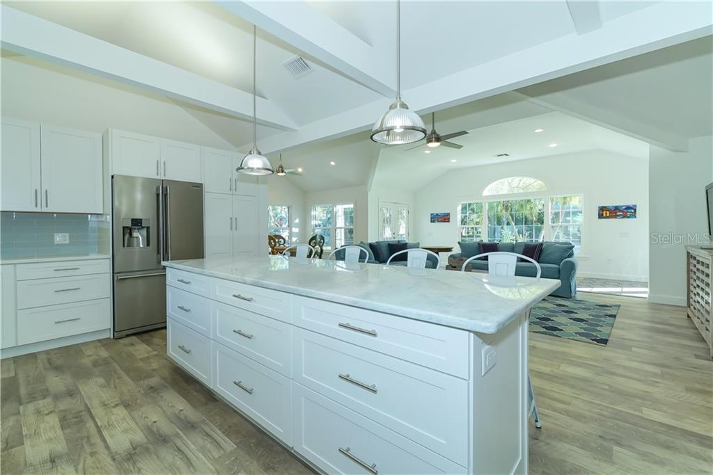 Gorgeous Marble Island - Single Family Home for sale at 2300 Mietaw Dr, Sarasota, FL 34239 - MLS Number is A4423151