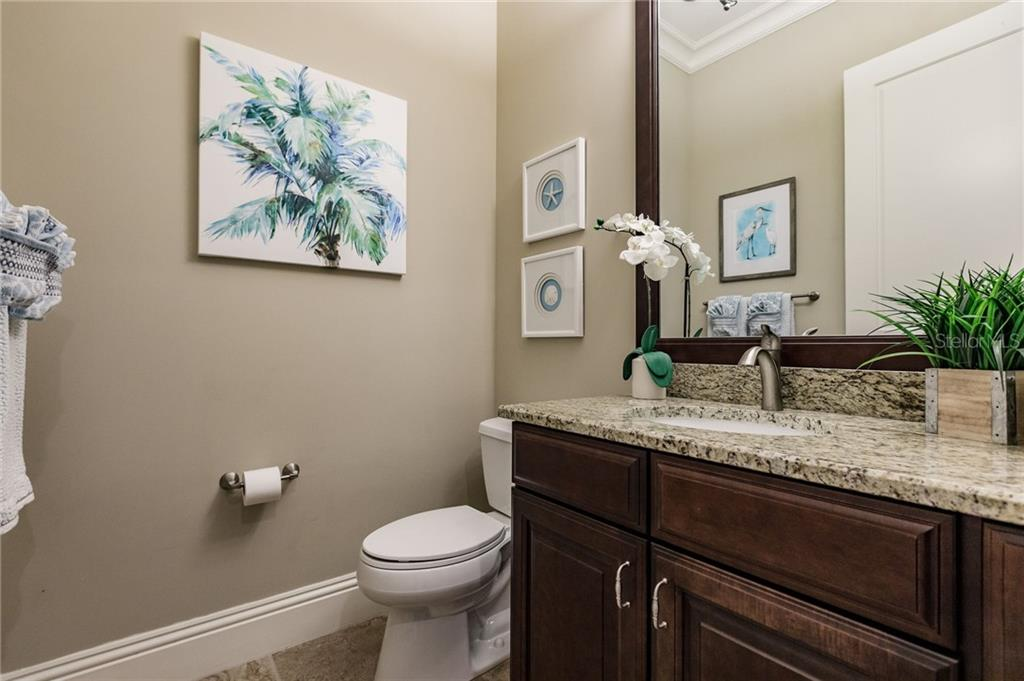 Powder Room - Single Family Home for sale at 20 Blake Way, Osprey, FL 34229 - MLS Number is A4423645