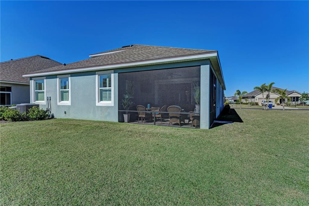 If desired, you could fence in your backyard with prior HOA approval. - Single Family Home for sale at 5260 Bentgrass Way, Bradenton, FL 34211 - MLS Number is A4424484